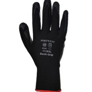 Portwest Dexti-Grip Gloves Black