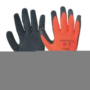 Portwest Thermal Grip Gloves Orange
