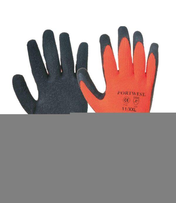 Portwest Thermal Grip Gloves Orange