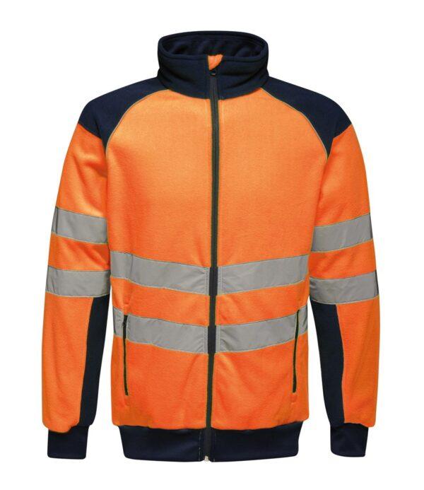 Regatta Hi-Vis Pro Contrast Fleece Jacket