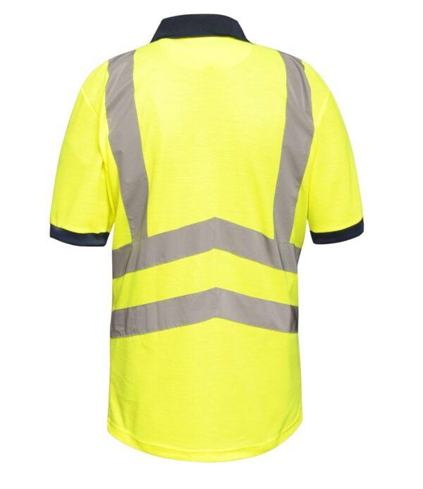Regatta Hi-Vis Pro Contrast Piqué Polo Shirt