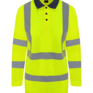 PRO RTX Hi-Vis Long Sleeve Polo Shirt