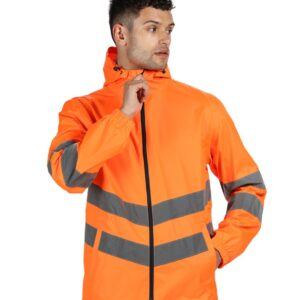 Regatta Hi-Vis Pro Packaway Jacket