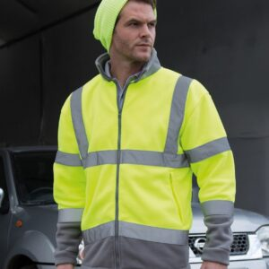 Result Safe-Guard Hi-Vis Micro Fleece Jacket