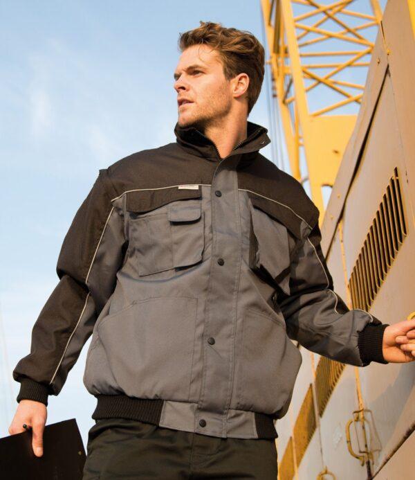 Result Work-Guard Zip Sleeve Heavy Duty Jacket