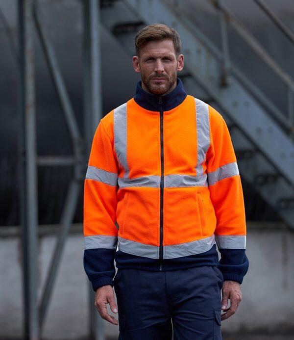 PRO RTX Hi-Vis Fleece Jacket